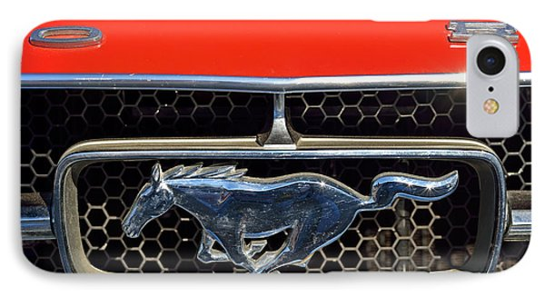 Ford Mustang Badge Phone Case by George Atsametakis