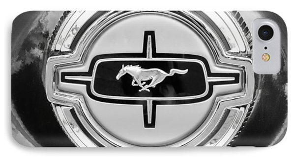 Ford Mustang Gas Cap Phone Case by Jill Reger