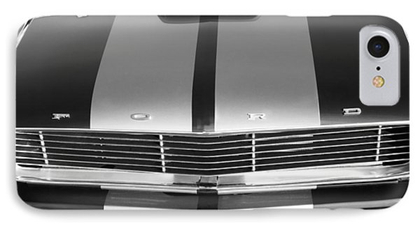 Ford Mustang Grille Phone Case by Jill Reger