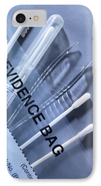 Forensic Science Equipment IPhone Case by Tek Image