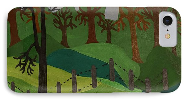 Forest Moderna IPhone Case by Erika Chamberlin