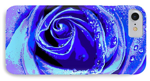 Forever In Blue IPhone Case by Krissy Katsimbras