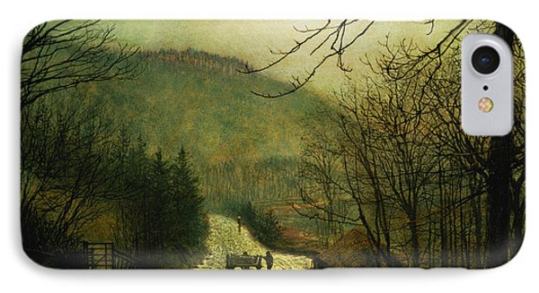 Forge Valley Phone Case by John Atkinson Grimshaw