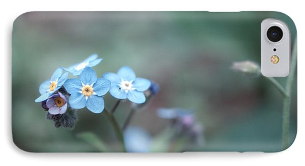 Forget Me Not IPhone Case by Rachel Mirror