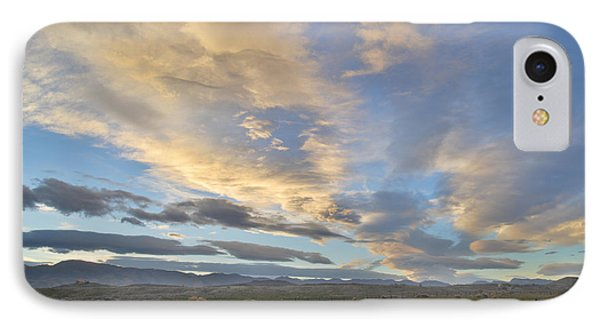 Fort Collins Sunset IPhone Case by Ray Mathis
