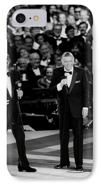 Frank Sinatra And Dean Martin IPhone Case