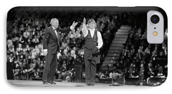 Frank Sinatra And Mikhail Barysnikov IPhone Case