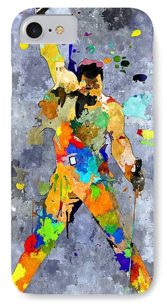 Freddie Mercury IPhone Case by Daniel Janda