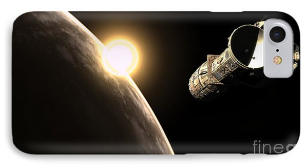 Frenchbulgarian Orbital Weapons IPhone Case by Rhys Taylor
