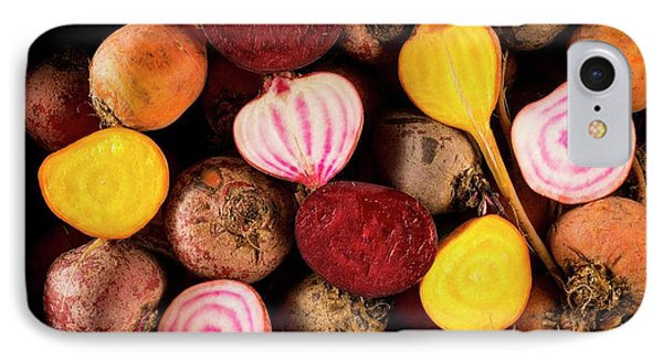 Fresh Beetroot And Red Onions IPhone 7 Case by Aberration Films Ltd