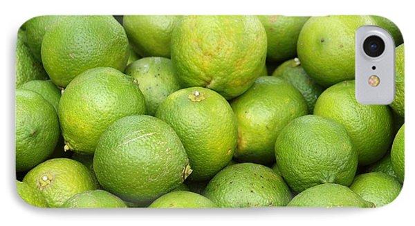 Fresh Green Lemons IPhone Case by Yali Shi