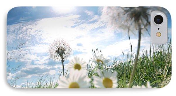 Fresh Meadow Background Phone Case by Michal Bednarek