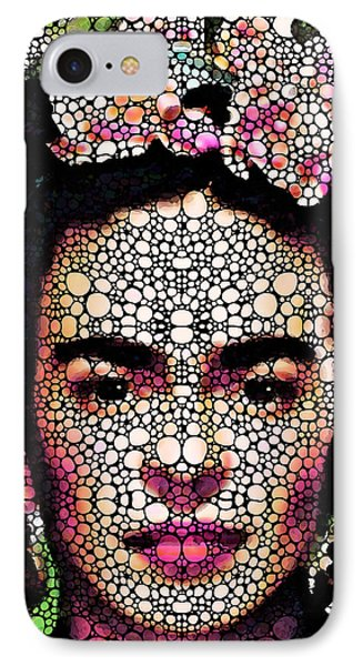 Frida Kahlo Art - Define Beauty Phone Case by Sharon Cummings