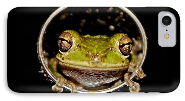 IPhone Case featuring the photograph Frog by Olga Hamilton