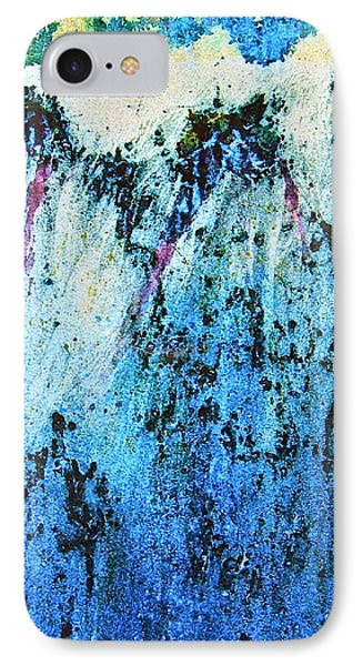 IPhone Case featuring the painting From The Edge by Carolyn Rosenberger