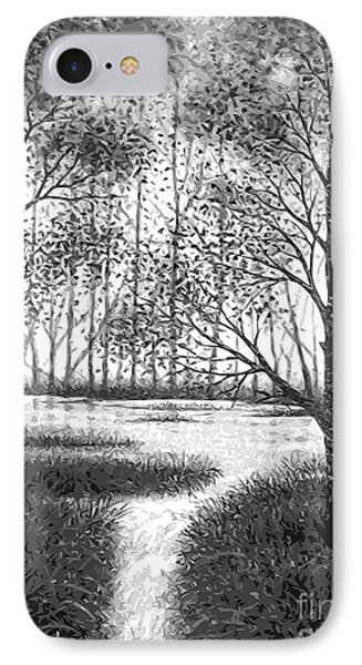 IPhone Case featuring the digital art Frosty Morning by Cristophers Dream Artistry