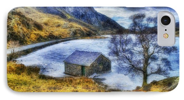 Frozen Lake IPhone Case by Ian Mitchell