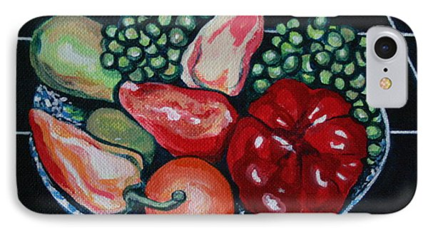 Fruit And Peppers IPhone Case