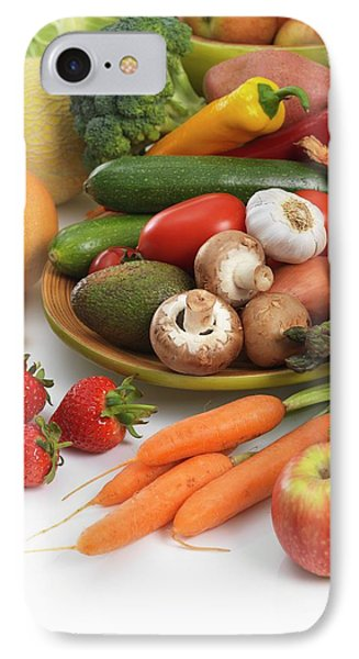 Fruit And Vegetables IPhone Case