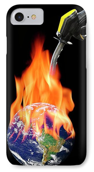 Fuelling Global Warming IPhone Case