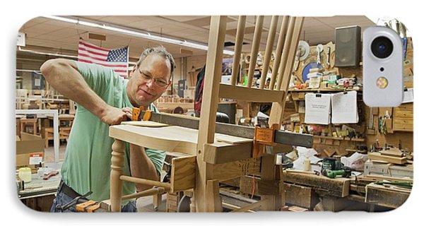 Furniture Crafts Manufacturing IPhone Case by Jim West