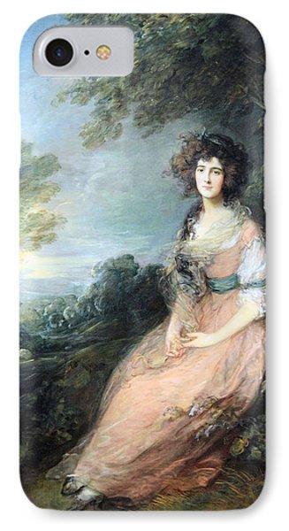 Gainsborough's Mrs. Richard Brimsley Sheridan IPhone Case