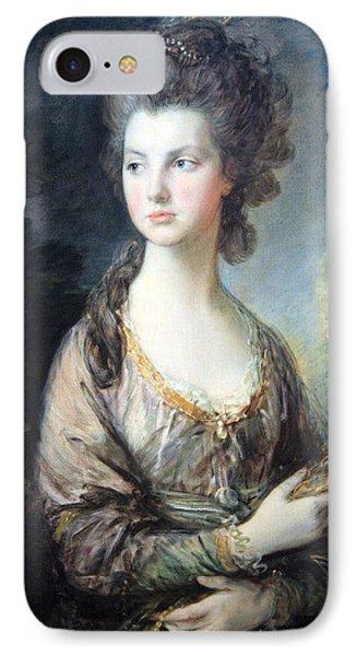 Gainsborough's The Hon. Mrs. Thomas Graham IPhone Case