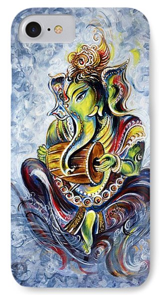 Musical Ganesha IPhone Case by Harsh Malik