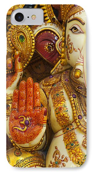 Ornate Ganesha IPhone Case by Tim Gainey