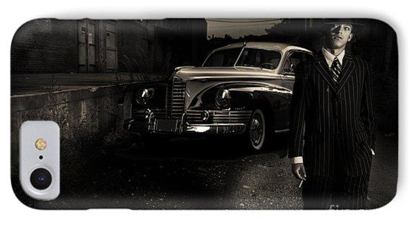 Gangster IPhone Case by Diane Diederich