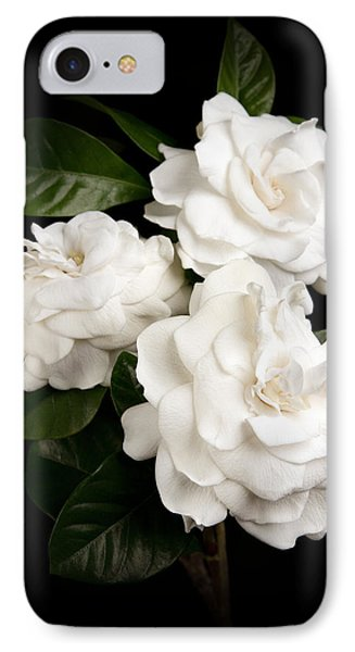 Gardenia IPhone Case by Brad Grove