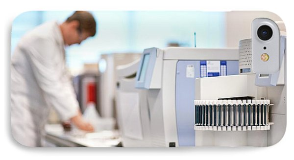 Gas Chromatography Analysis IPhone Case