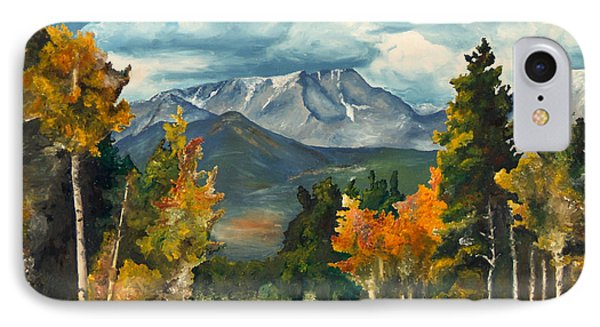 Gayle's Highway IPhone Case by Mary Ellen Anderson