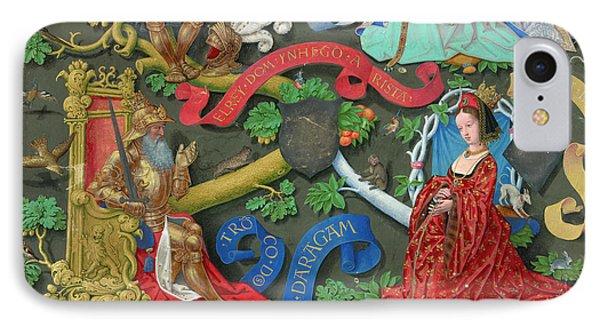 Genealogy Of Kings Of Navarre IPhone Case