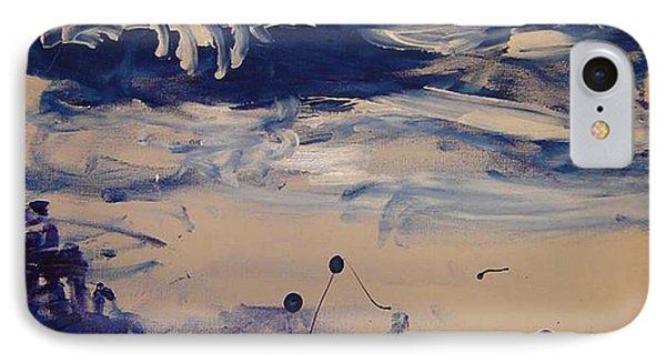 Genesis I Phone Case by Luz Elena Aponte