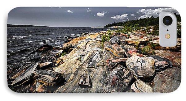 Georgian Bay Shore IPhone Case by Elena Elisseeva