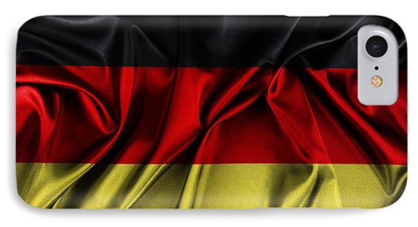 German Flag IPhone Case by Les Cunliffe