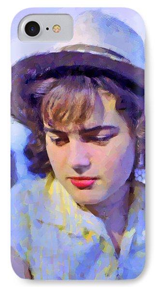 German Girl On The Rhine Phone Case by Chuck Staley
