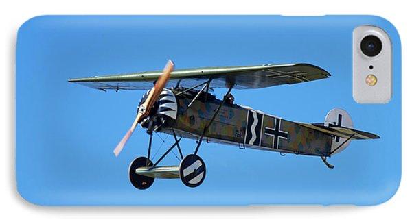 German Wwi Fokker D-8 Fighter Plane IPhone Case by David Wall