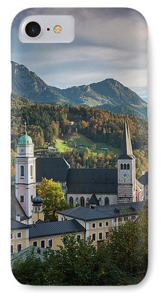 Germany, Bavaria, Berchtesgaden IPhone Case by Walter Bibikow