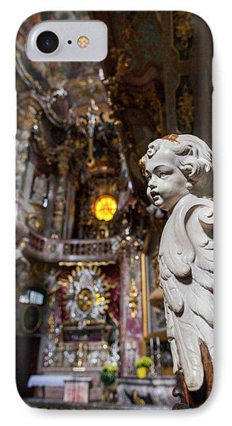 Germany, Bavaria, Munich, Assamkirche IPhone Case by Walter Bibikow