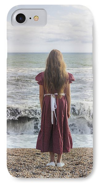 Girl On Beach Phone Case by Joana Kruse