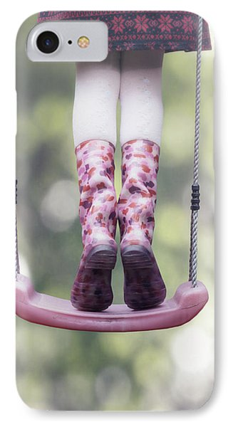 Girl Swinging Phone Case by Joana Kruse
