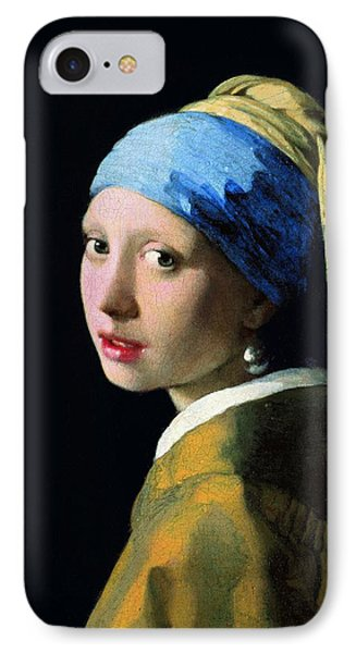 Girl With A Pearl Earring IPhone Case by Jan Vermeer