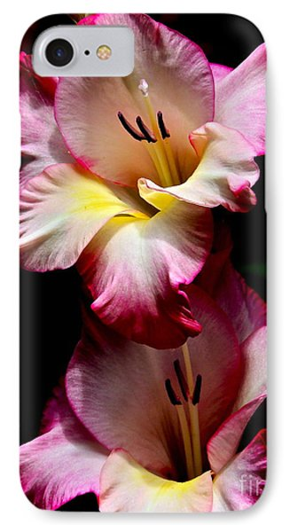 IPhone Case featuring the photograph Gladiolus Beauty by Eve Spring
