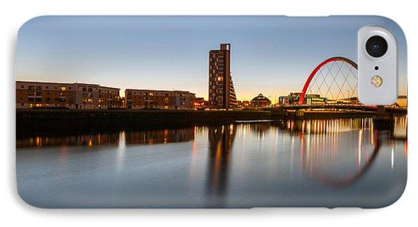 Glasgow Clyde Arc  Phone Case by John Farnan