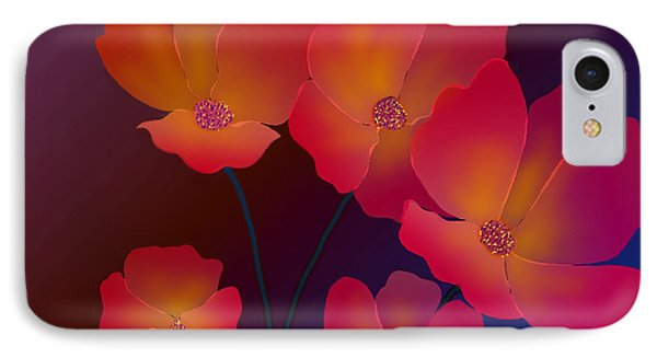 IPhone Case featuring the digital art Glorious by Latha Gokuldas Panicker