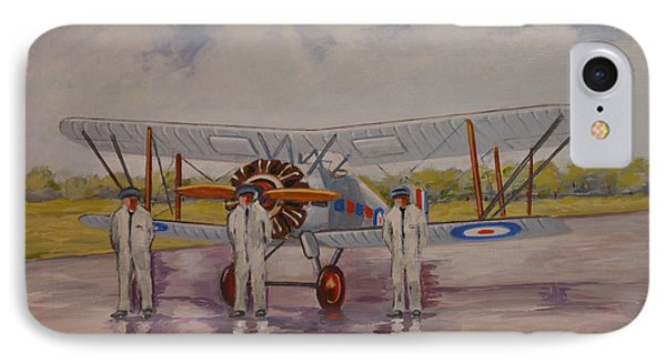 IPhone Case featuring the painting Gloster Gamecock by Murray McLeod