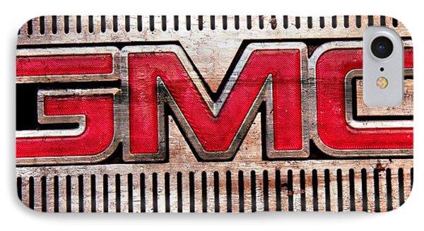 GMC IPhone Case by Michaela Preston