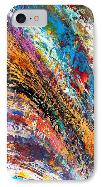 IPhone Case featuring the mixed media Going With It by Everette McMahan jr